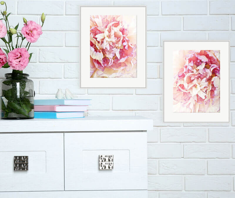 Framed Chic Pink Decor