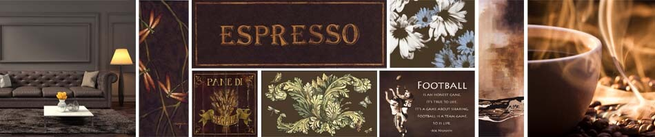 Espresso Brown Art