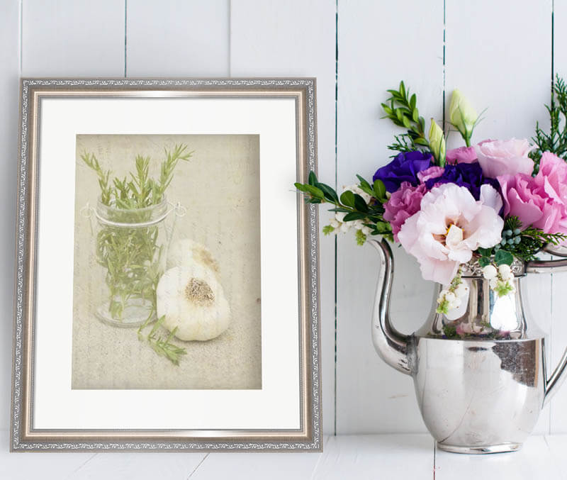 contempoarary country floral art