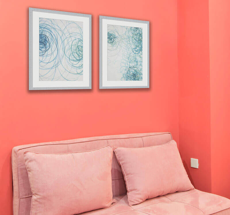 Decorate With Coral And Teal Art | Decorate with Color Trends at ...