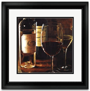 Framed Wine collection