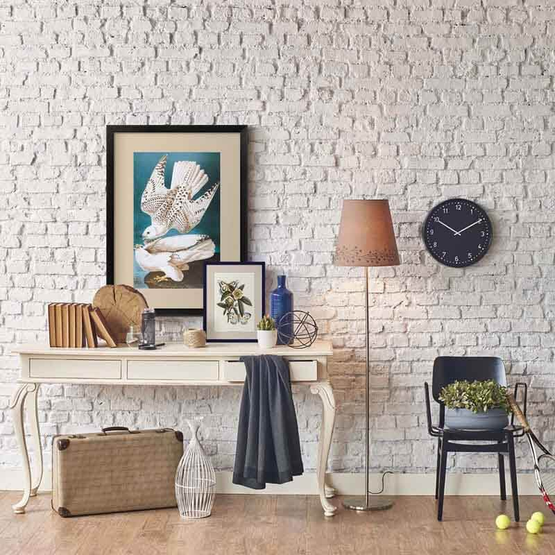 earthy chic office art