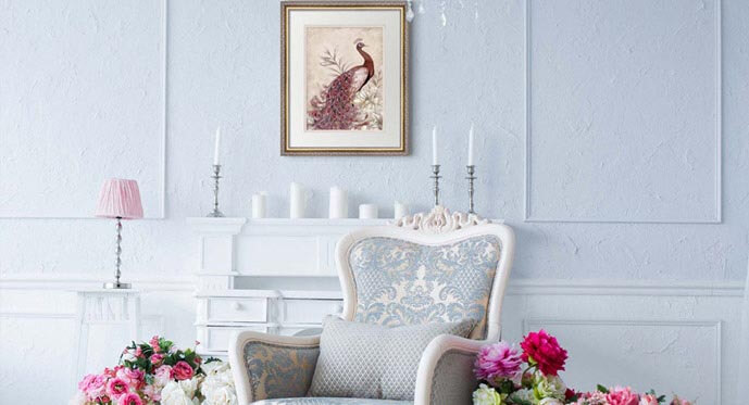 feminine elegance decor