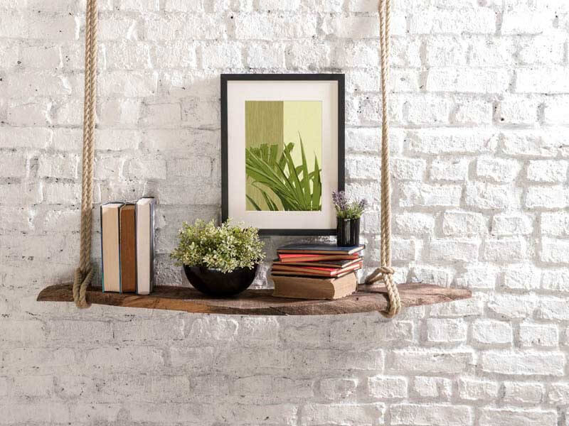 Elegant leaf framed art