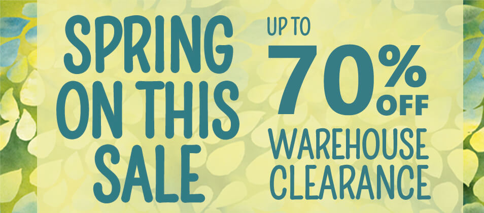 Spring Clearance Sale