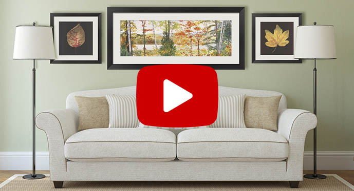 floral art prints video
