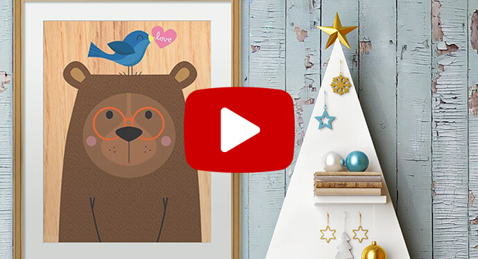 gifts for kids art prints video