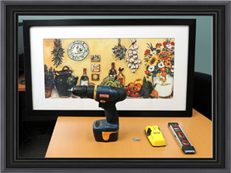 How to Hang Your Framed Art at FramedArt.com