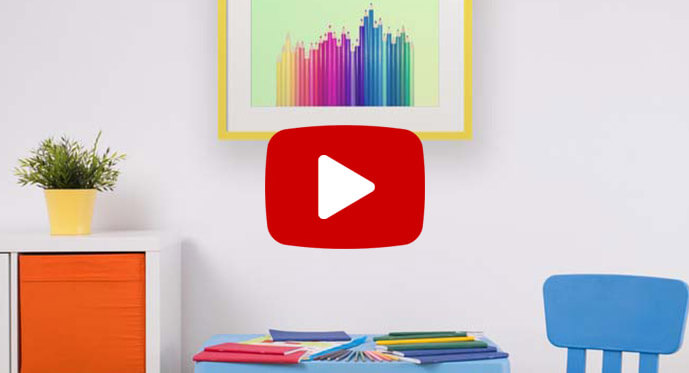 kinder chic posters video