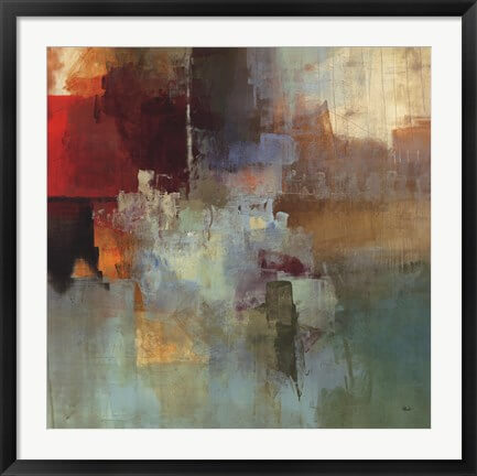 Large Framed Abstract Art