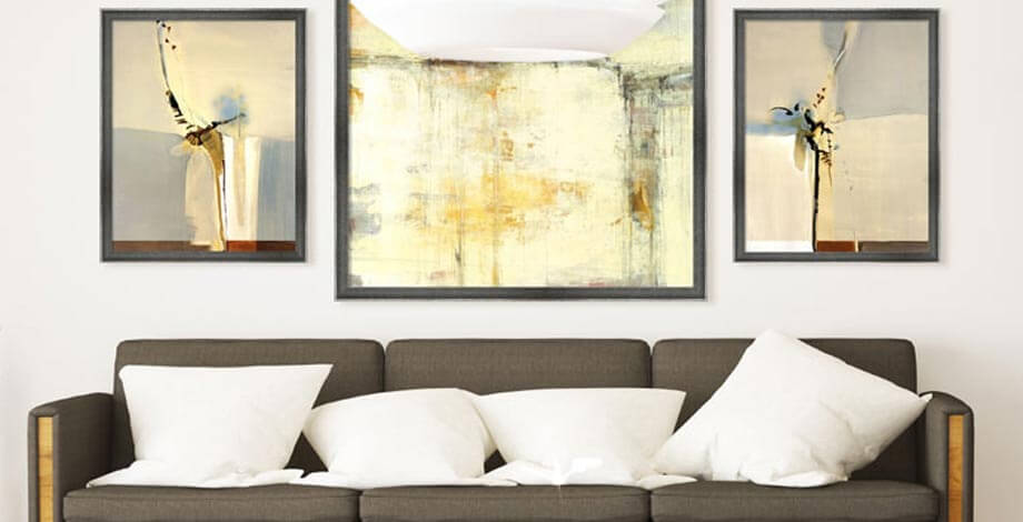 How To Decorate Living Room Walls Framed Art Mesmerizing Living Room Walls