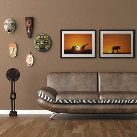 How to Decorate Living Room Walls | Framed Art.com