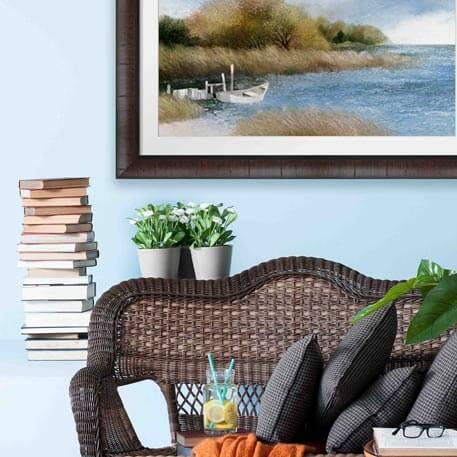 How To Decorate Living Room Walls Framed Artcom