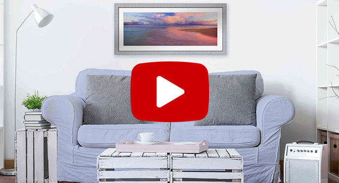 modern pastels art video