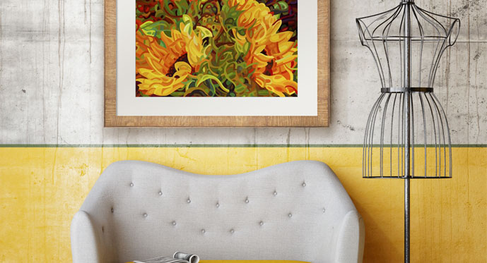 Moss and Marigold Decor