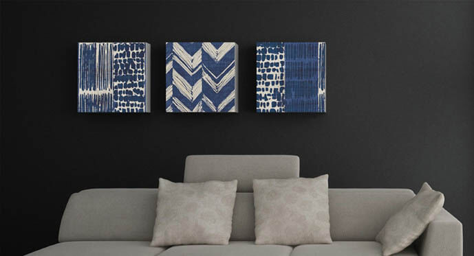 Chic Black and Blue Color Ideas