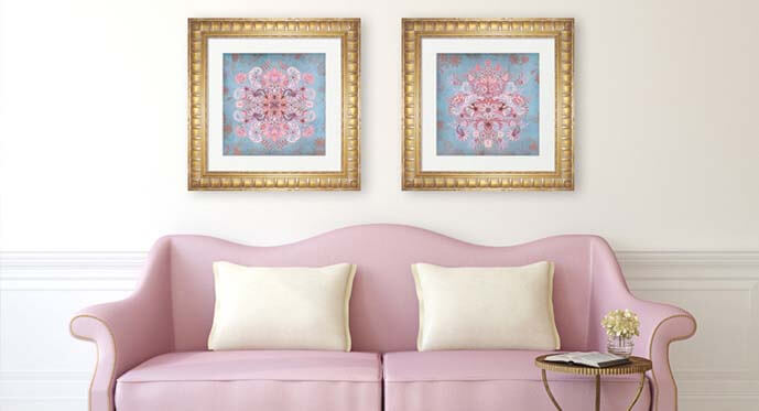 Rose and Serenity Color Ideas