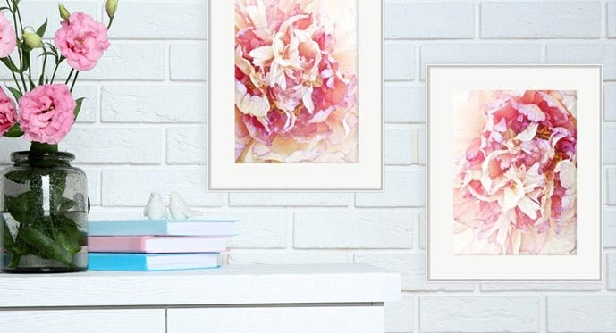 Chic Pink and White Color Ideas
