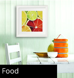 Framed Food Art