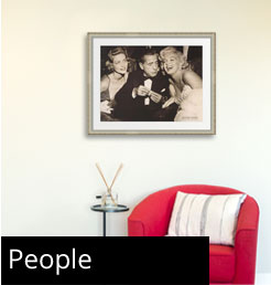 People Framed Art