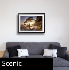 Scenic Art Framed