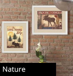 Framed Nature Art