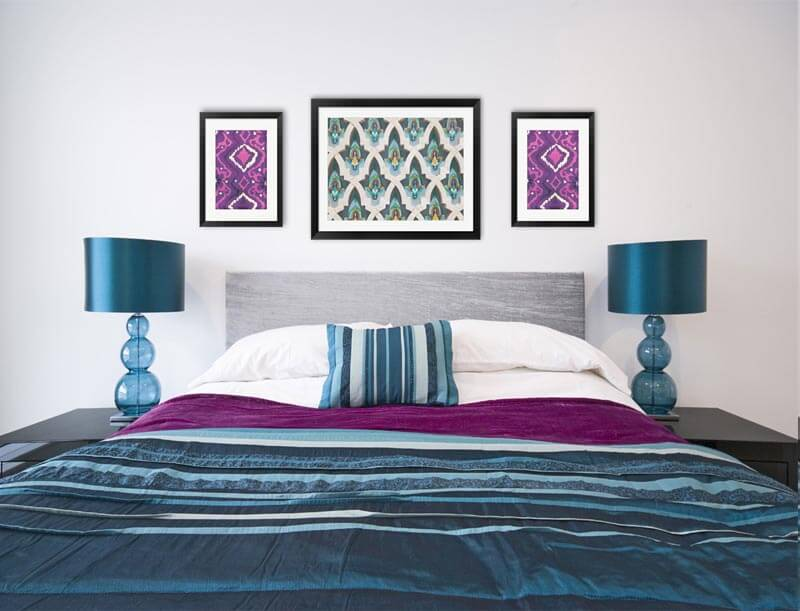 Bohemian Bedroom Art