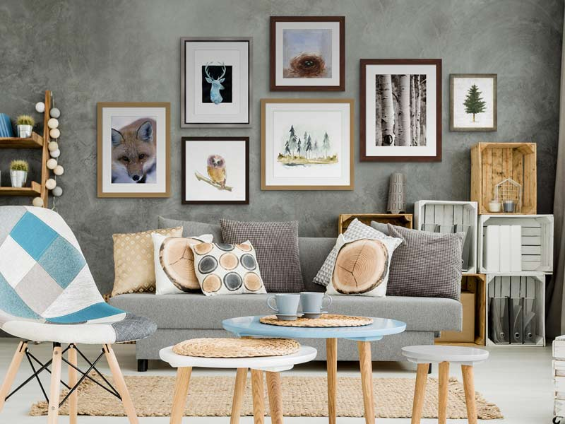 Nordic Themed Living Room