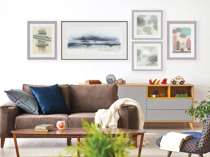 Nordic Shores Living Room