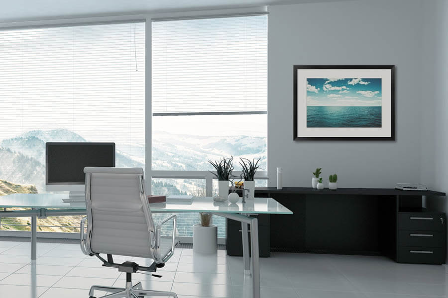 Expand Your Office with framed art