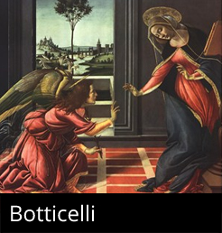 Framed Botticelli Artwork