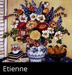 Etienne Paintings Framed