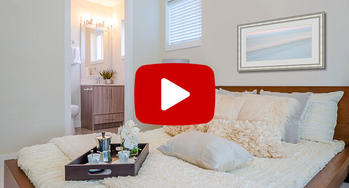 soothing and serene decorating style video