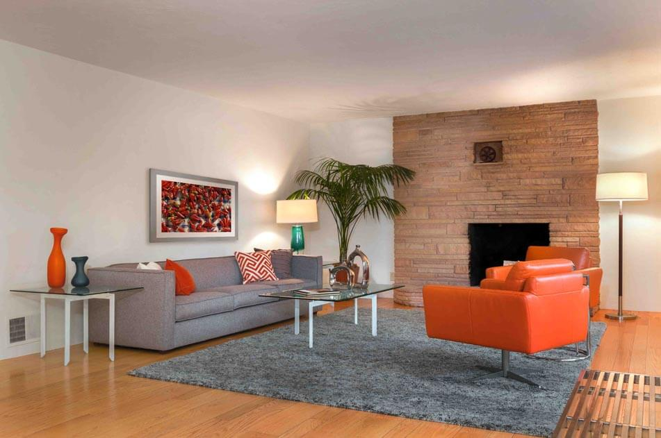 Spicy Bold Living Room