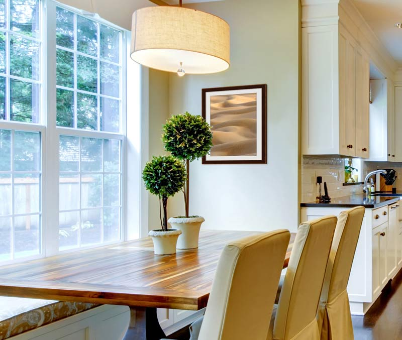 Simple Dining Room Decor For A Transitional Season: Create A Transitional Space With Framed Transitional Decor