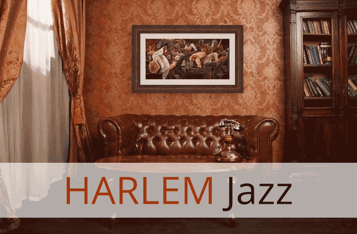Harlem Jazz Art