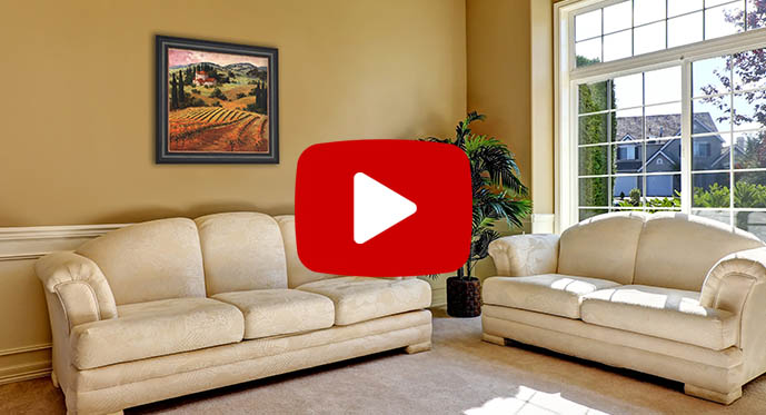 decorating with tuscany art prints video