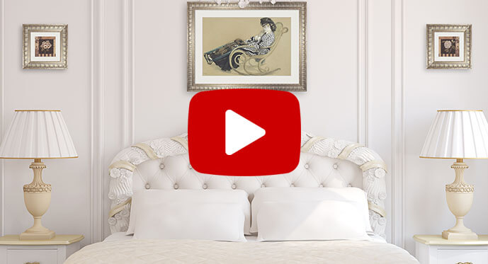decorating with victorian art prints video