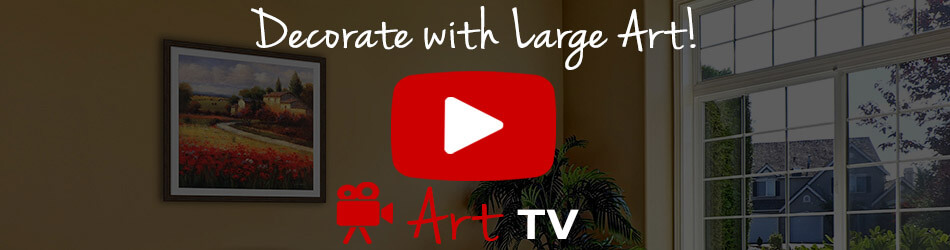 Large Art Decor Ideas Video