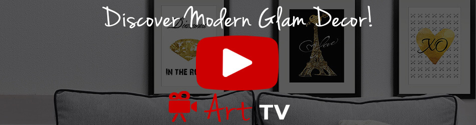 Modern Glam Decor Ideas Video