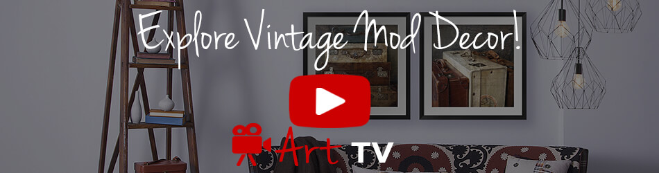Vintage Mod Decor Ideas Video