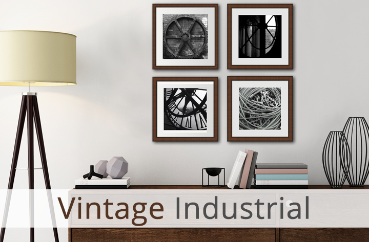 Vintage Industrial Art