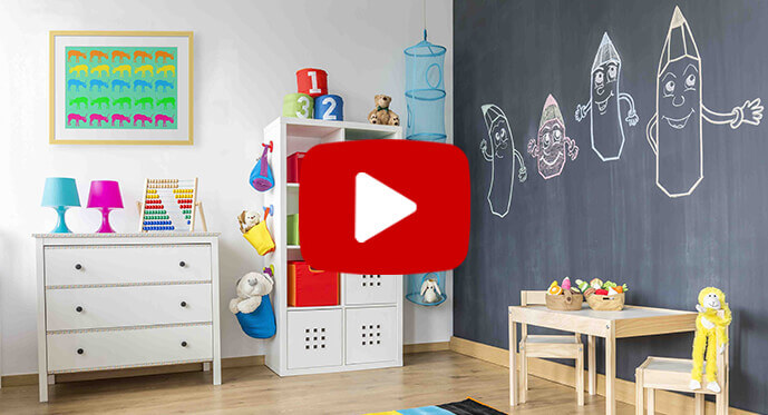 video on wild child color scheme decor