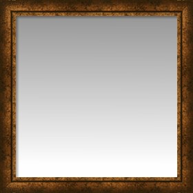 Framed Contemporary Gold Slant Front