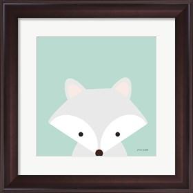 Framed Cuddly Fox