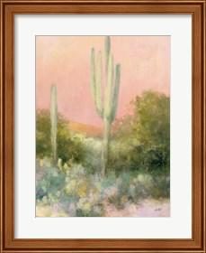 Framed Sunrise Desert II