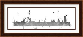 Framed London Skyline