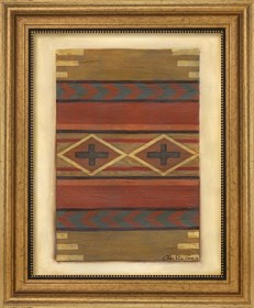 Framed Rio Grande Weaving (H) I