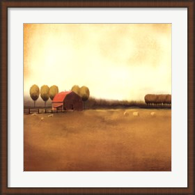 Framed Rural Landscape II