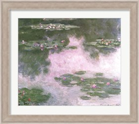 Framed Nympheas, Water Landscape, 1907